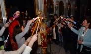 «ΧΡΙΣΤΟΣ ΑΝΕΣΤΗ» ΣΤΟΝ ΜΗΤΡΟΠΟΛΙΤΙΚΟ ΝΑΟ ΤΟΥ ΑΓΙΟΥ ΑΧΙΛΛΙΟΥ