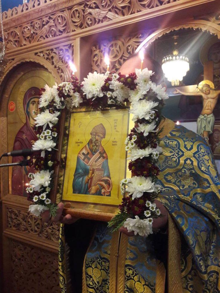 AgSpir petrpaulou 4 - Λάρισα: Μεγάλη εορτή προς τιμήν του Θαυματουργού Αγίου Σπυρίδωνος (Φώτο) - Εκκλησία