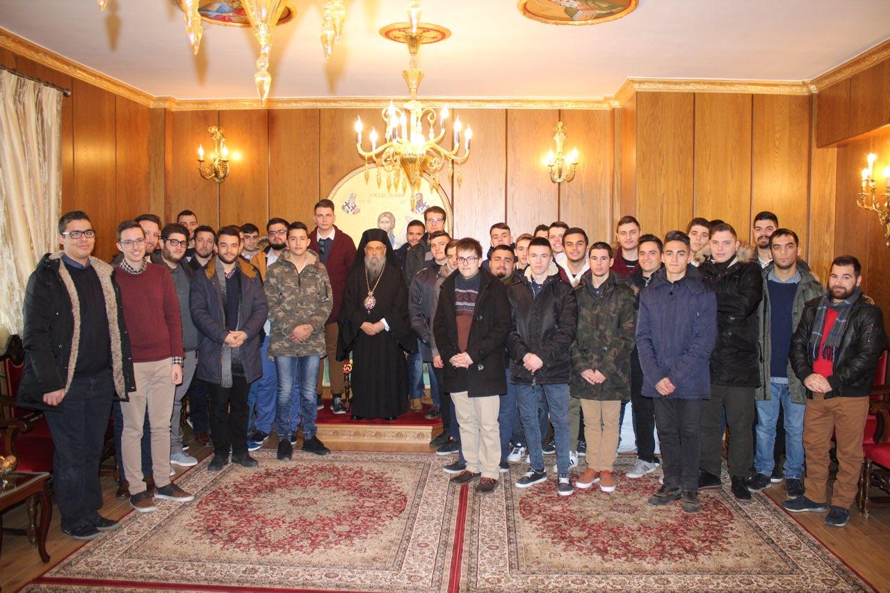 kalanta xmas 2017 16 - Έψαλλαν τα κάλαντα στον Σεβασμιώτατο Μητροπολίτη Λαρίσης & Τυρνάβου κ. Ιγνάτιο (Φώτο)