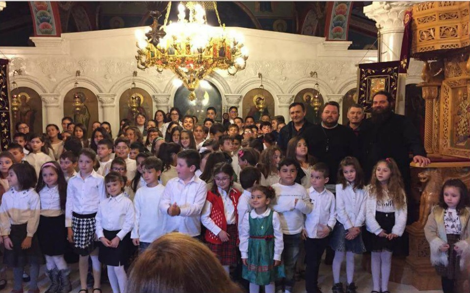 katx platykampos 2017 2 - Ιδιαίτερη επιτυχία η εορτή των κατηχητικών της ενορίας του Αγίου Χαραλάμπους Πλατυκάμπου