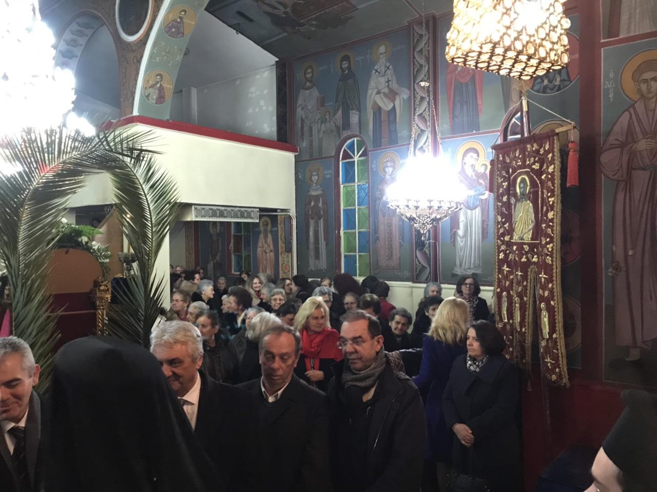 EspTimProdromou kaloxwri 6 - Στον πανηγυρικό εσπερινό του Αγίου Ιωάννου Προδρόμου Καλοχωρίου ο Σεβασμιώτατος