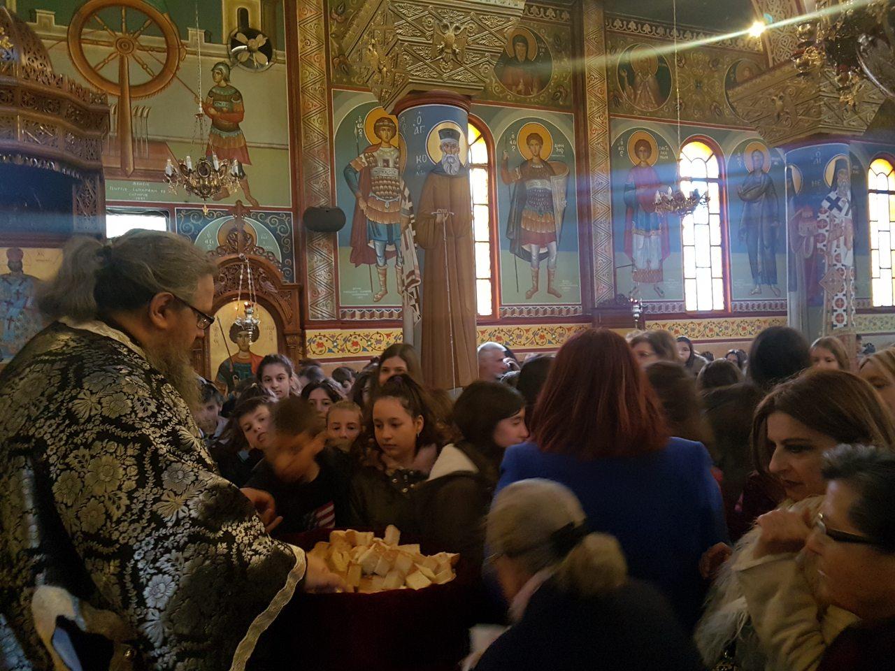 prohgiasmenh giannouli 6 - Ο Σεβασμιώτατος στον Ι.Ν. Αγίου Γεωργίου Γιάννουλης