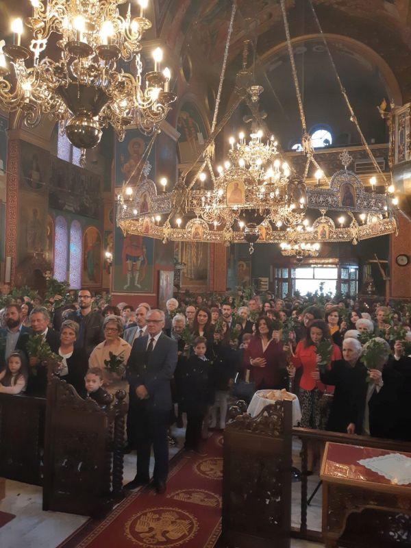 Vaiwn 2019 10 - Κυριακή Των Βαΐων Στον Άγιο Γεώργιο Τυρνάβου