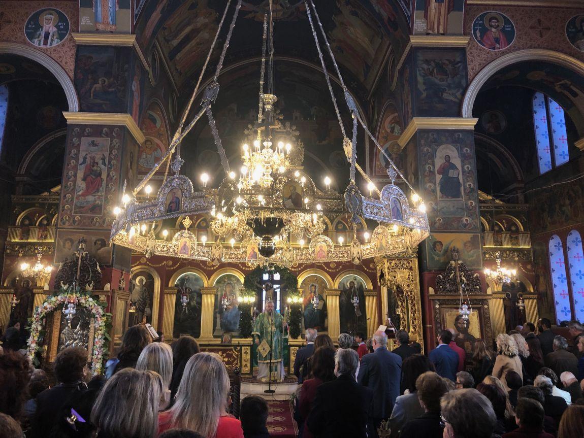 Vaiwn 2019 2 - Κυριακή Των Βαΐων Στον Άγιο Γεώργιο Τυρνάβου