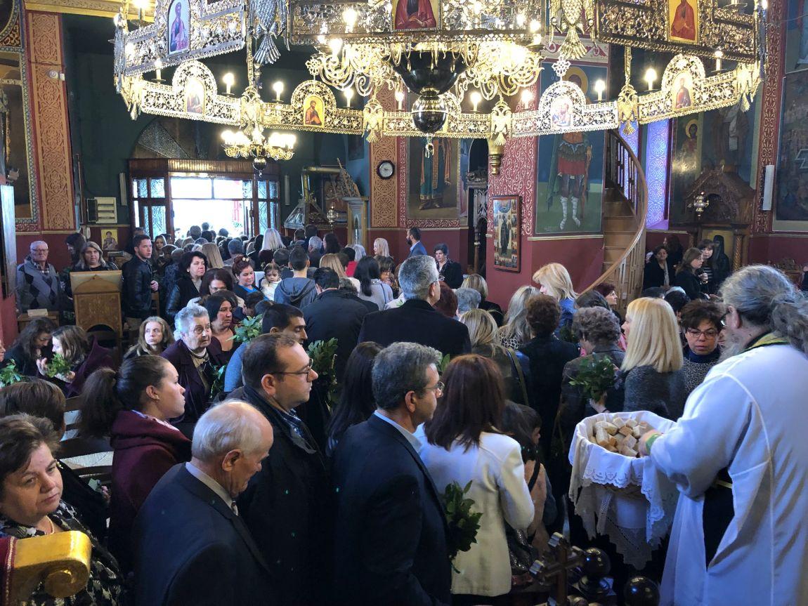 Vaiwn 2019 5 - Κυριακή Των Βαΐων Στον Άγιο Γεώργιο Τυρνάβου