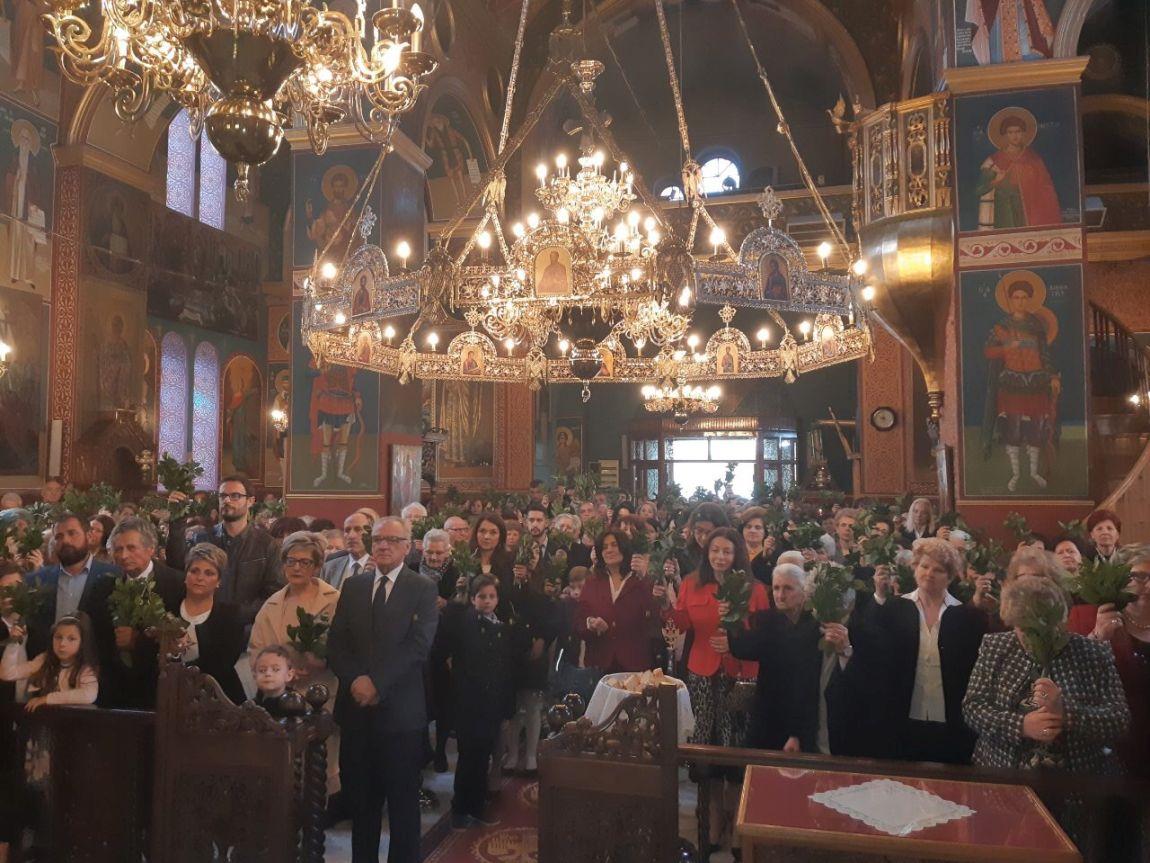 Vaiwn 2019 9 - Κυριακή Των Βαΐων Στον Άγιο Γεώργιο Τυρνάβου