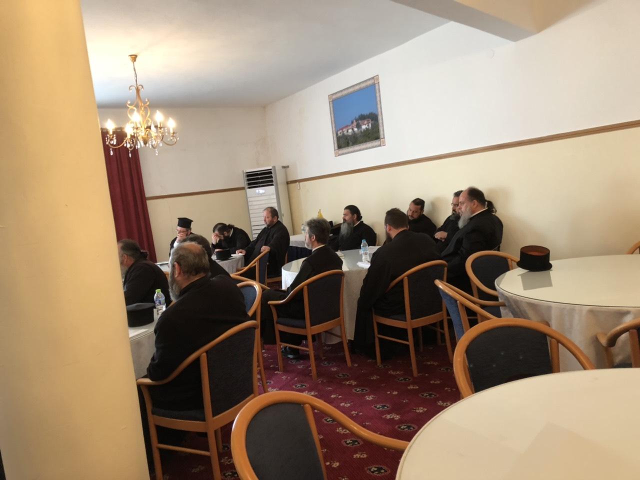 seminario elassona 3 - Ο Σεβασμιώτατος Ομιλητής Σε Επιμορφωτικό Σεμιναριο Στην Ιερά Μητρόπολη Ελασσώνος