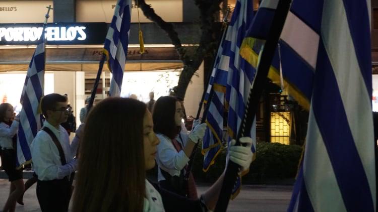 AgAxil 2019 esperas 38 - Ο Πανηγυρικός Εσπερινός και η Λιτανεία των Λειψάνων του Πολιούχου και Προστάτου Αγ. Αχιλλίου