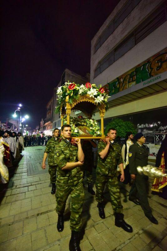 AgAxil 2019 esperas 58 - Ο Πανηγυρικός Εσπερινός και η Λιτανεία των Λειψάνων του Πολιούχου και Προστάτου Αγ. Αχιλλίου