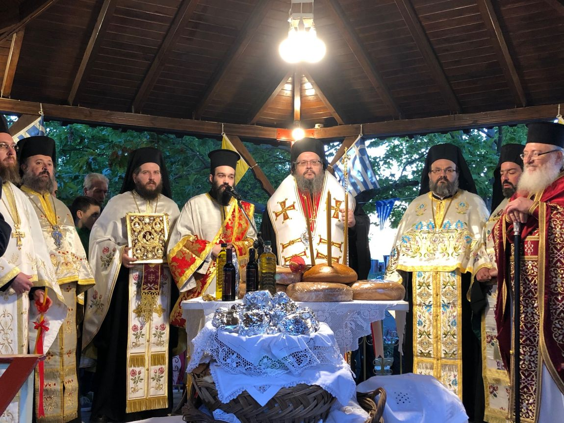 omorfoxori 2019 10 - Με κάθε μεγαλοπρέπεια η Λιτανεία των Αγίων Ραφαήλ, Νικολάου Και Ειρήνης στο Ομορφοχώρι