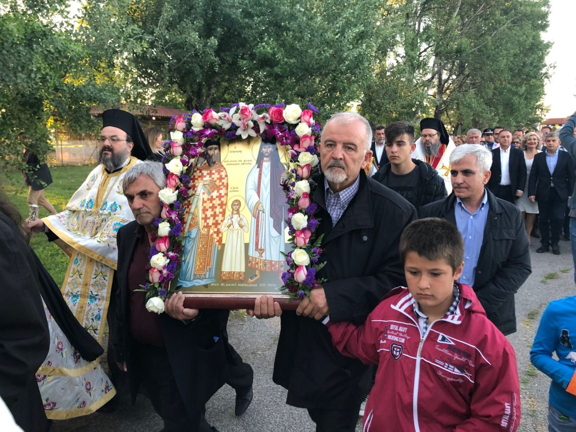 omorfoxori 2019 5 - Με κάθε μεγαλοπρέπεια η Λιτανεία των Αγίων Ραφαήλ, Νικολάου Και Ειρήνης στο Ομορφοχώρι