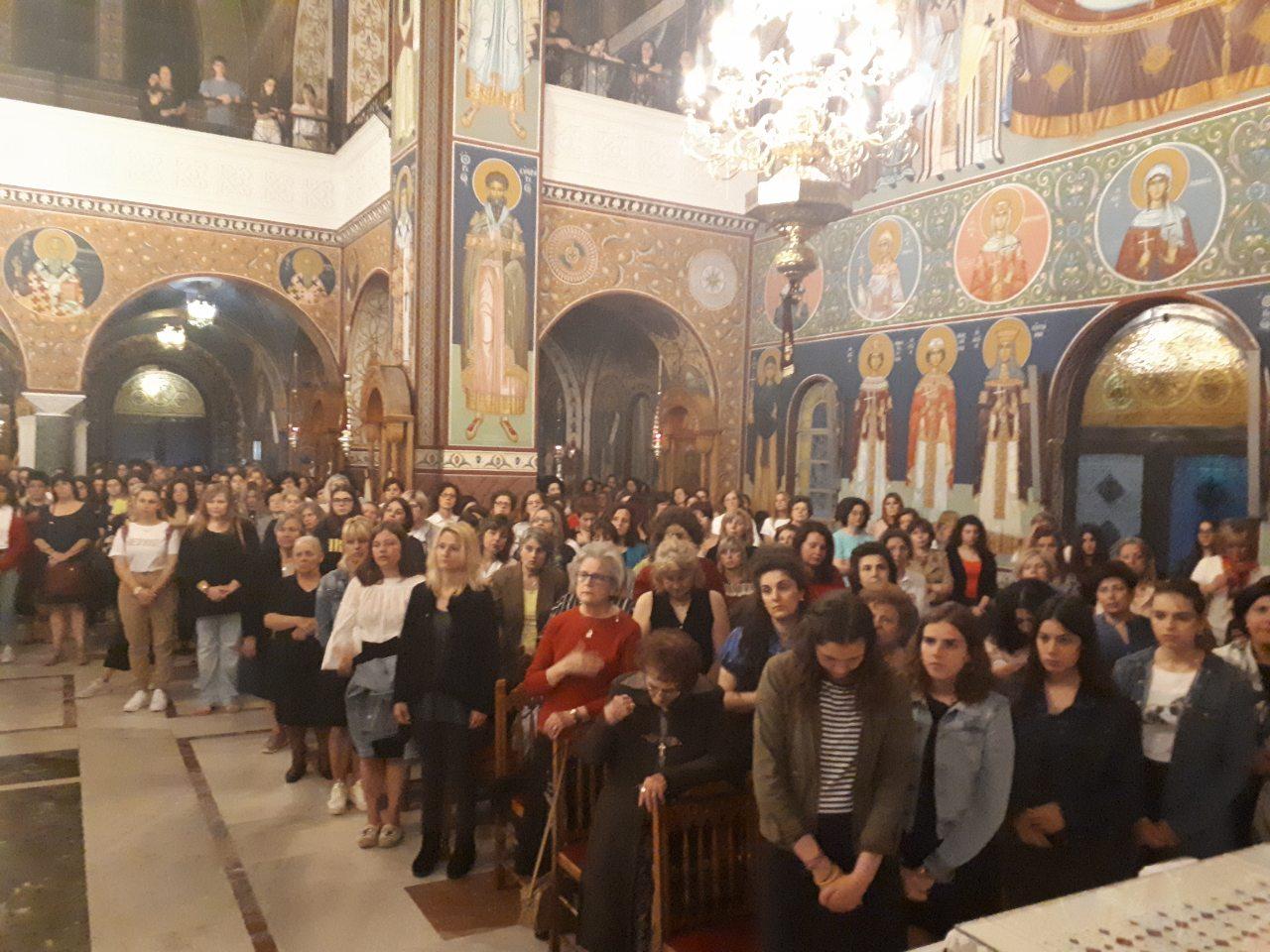 paraklisi ypopsifiwn 2019 3 - Παράκληση για τους υποψηφίους υων Πανελλαδικών Εξετάσεων τέλεσε ο Σεβασμιώτατος