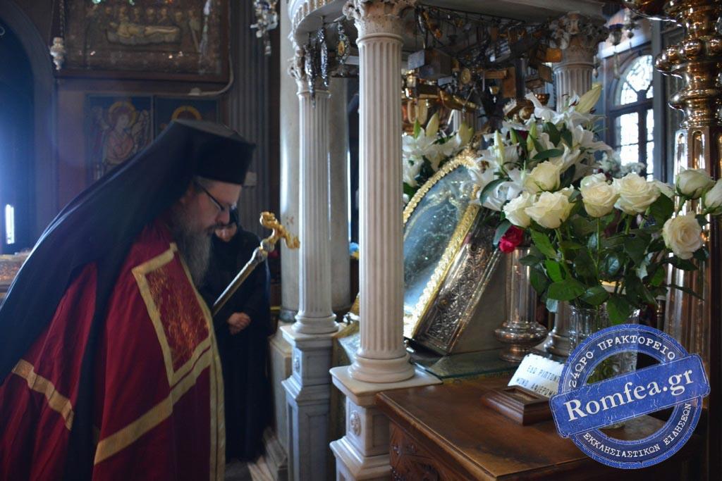 tinos 2019 20 - Στην Παναγία της Τήνου οι Λαρισαίοι προσκυνητές. (φωτο)
