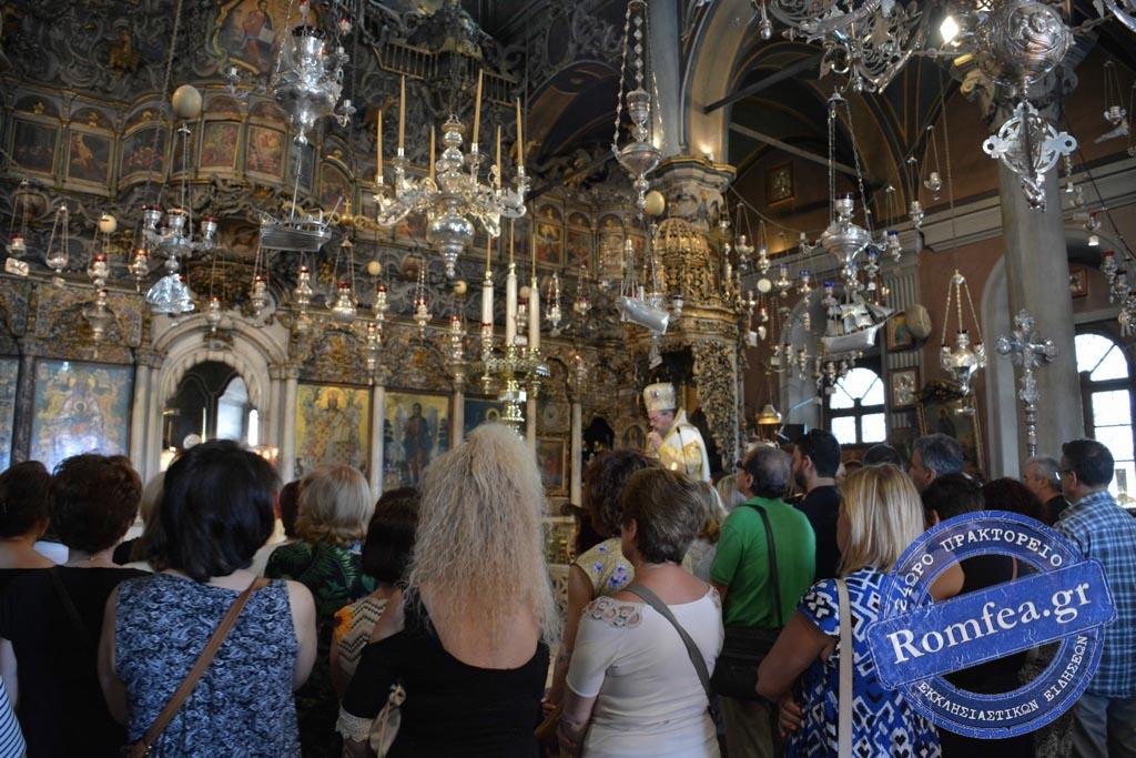 tinos 2019 26 - Στην Παναγία της Τήνου οι Λαρισαίοι προσκυνητές. (φωτο)