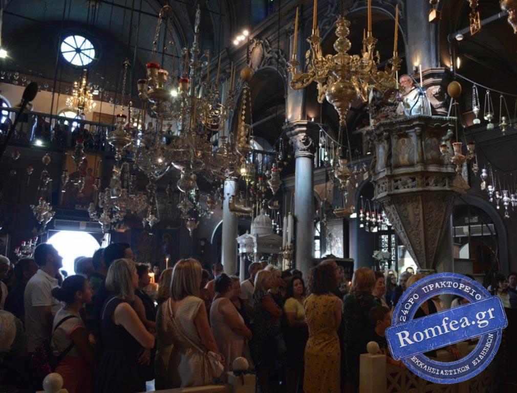 tinos 2019 37 - Στην Παναγία της Τήνου οι Λαρισαίοι προσκυνητές. (φωτο)