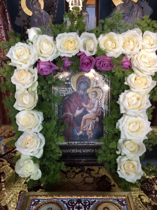 panagia gorgoypikoos2019 9 - Στον Αμπελώνα για την Παναγία τη Γοργοϋπήκοο ο Σεβασμιώτατος (φωτο)