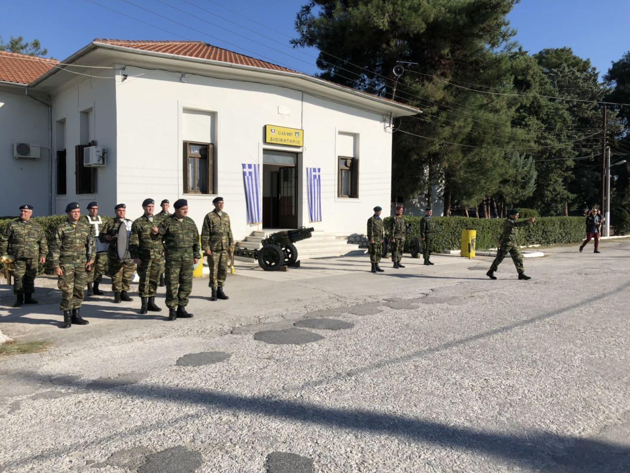 "orkomosia mpouga 5 - Στην ορκωμοσία νέων οπλιτών στο Στρατόπεδο ""Μπουγά"" ο Σεβασμιώτατος"