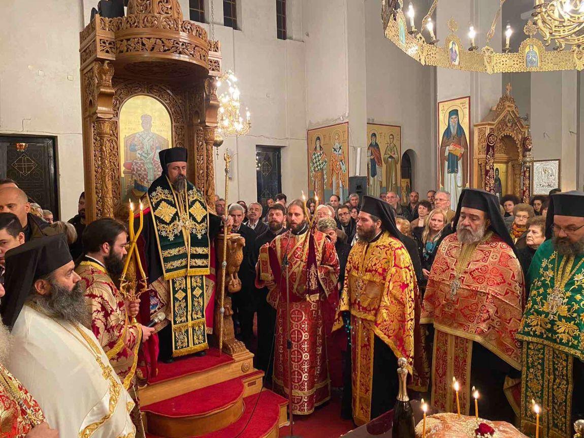 esp AgGedeon 2019 1 - Εσπερινός Αγίου Γεδεών Στην Πόλη Του Τυρνάβου