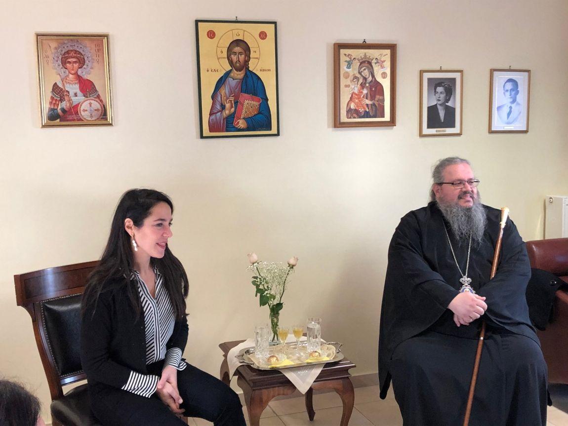 mixailidou orfanotrofeio 3 - Η Υφυπουργός Εργασίας στο Ορφανοτροφείο της Μητροπόλεως