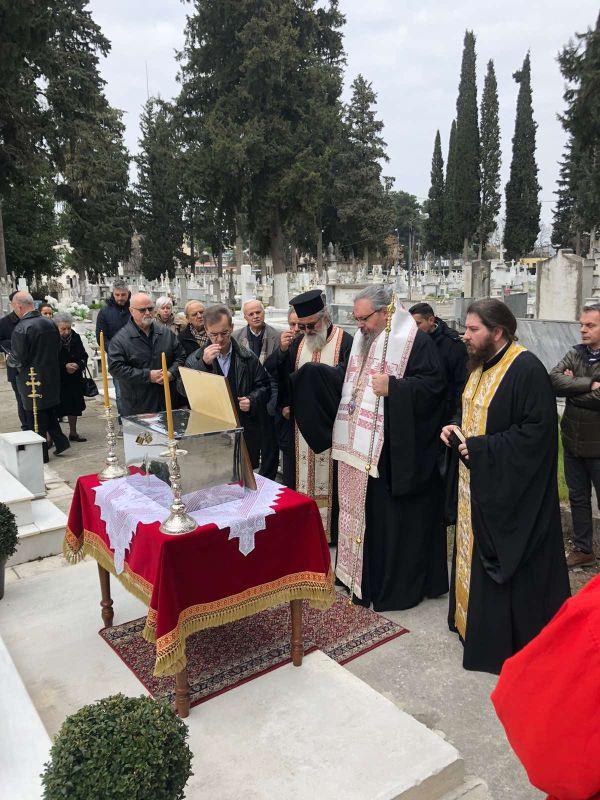osta iakovou sxiza 3 - Επαναφορά των Οστών του Μακαριστού Λαρίσης και Πλαταμώνος Ιακώβου Σχίζα