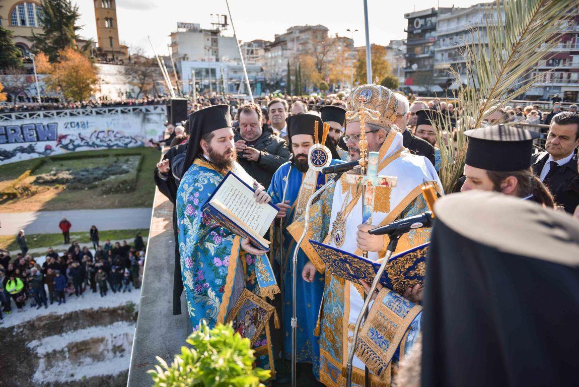 theofaneia 2020 6 - Θεοφάνεια στον Άγιο Αχίλλιο και Αγιασμός των Υδάτων του Πηνειού ποταμού