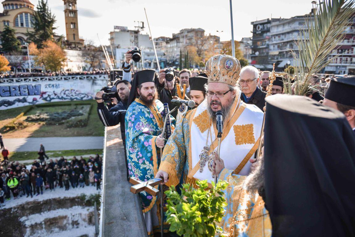theofaneia 2020 8 - Θεοφάνεια στον Άγιο Αχίλλιο και Αγιασμός των Υδάτων του Πηνειού ποταμού