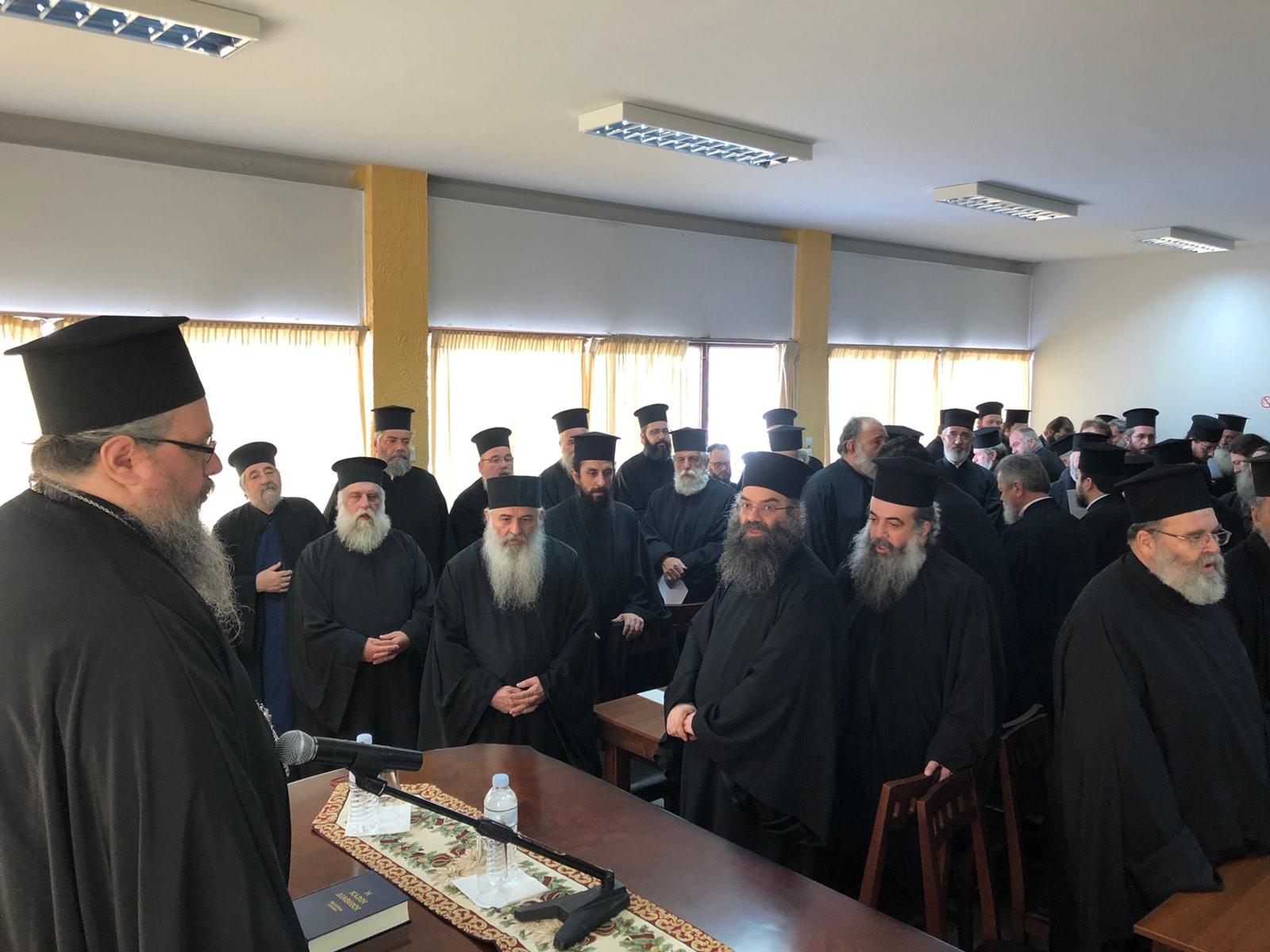 synaksi febrouariou 3 - Ιερατική Σύναξη στο Μελισσοχώρι (φωτο)