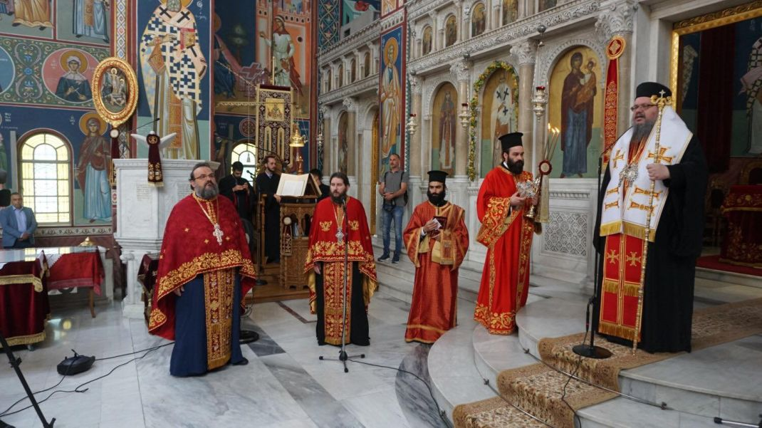 doksologia AgAxilliou 2020 2 - Επίσημη Δοξολογία για τον Πολιούχο της Λάρισας Άγιο Αχίλλιο (φωτο)