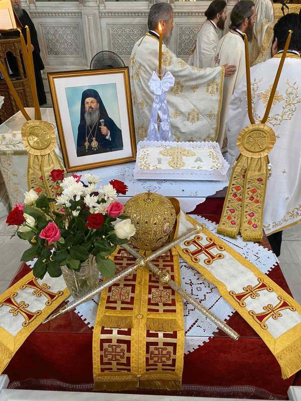 dietes mnim Ignatiou 1 - Διετές Μνημόσυνο Μακαριστού Λαρίσης Κυρού Ιγνατίου.