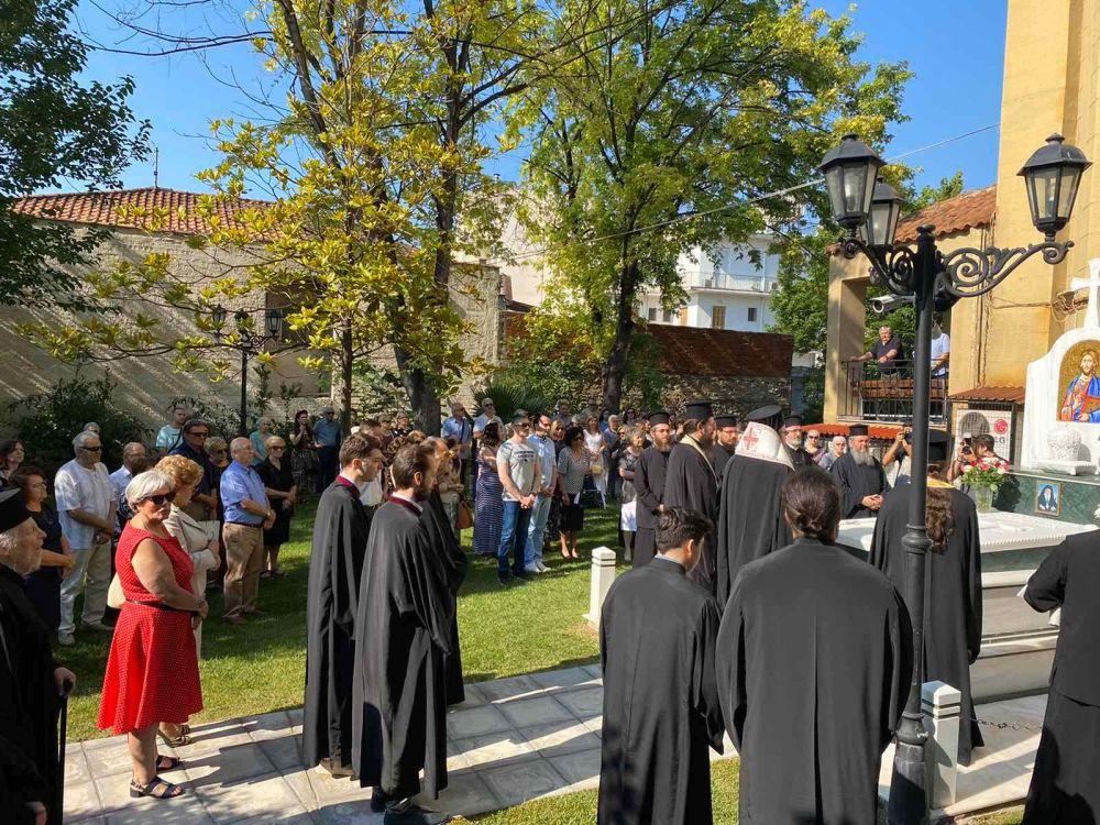 dietes mnim Ignatiou 8 - Διετές Μνημόσυνο Μακαριστού Λαρίσης Κυρού Ιγνατίου.