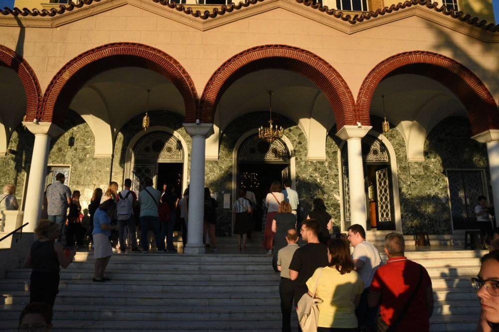 paraklisi panelladikes 2020 3 - Παράκληση για τους υποψηφίους μαθητές στον Άγιο Αχίλλιο (φωτο)