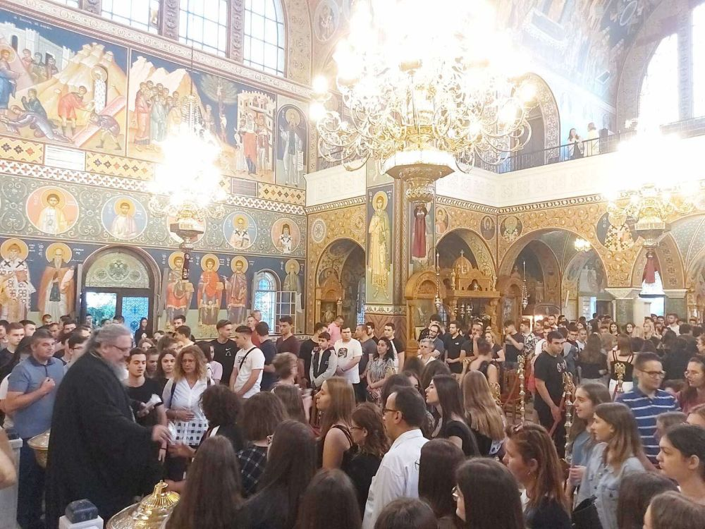 paraklisi panelladikes 2020 5 - Παράκληση για τους υποψηφίους μαθητές στον Άγιο Αχίλλιο (φωτο)