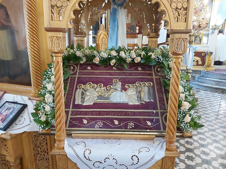 paraklisi ampelwnas 2020 2 - Παράκληση στον Ι. Ν. Κοιμήσεως της Θεοτόκου Αμπελώνος