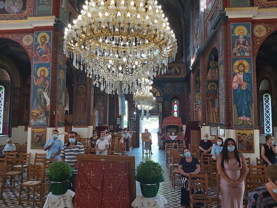 paraklisi ampelwnas 2020 4 - Παράκληση στον Ι. Ν. Κοιμήσεως της Θεοτόκου Αμπελώνος