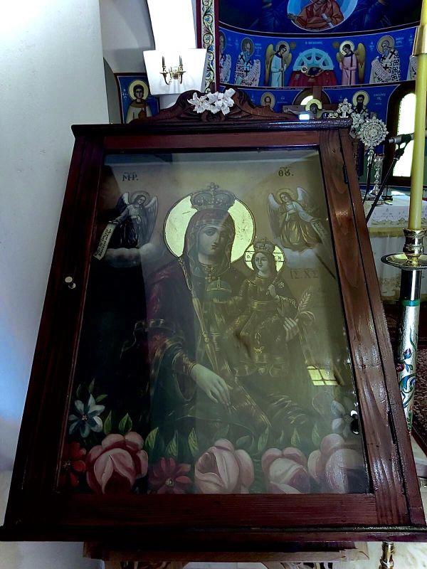 paraklisi imEuaggelismou 2020 2 - Παράκληση στην Ιερά Μονή Ευαγγελισμού της Θεοτόκου Πυργετού (φωτ)