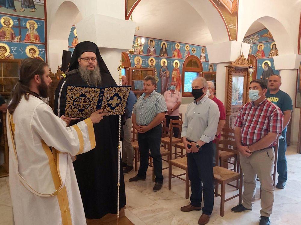 paraklisi imEuaggelismou 2020 5 - Παράκληση στην Ιερά Μονή Ευαγγελισμού της Θεοτόκου Πυργετού (φωτ)