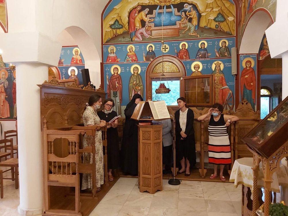 paraklisi imEuaggelismou 2020 6 - Παράκληση στην Ιερά Μονή Ευαγγελισμού της Θεοτόκου Πυργετού (φωτ)