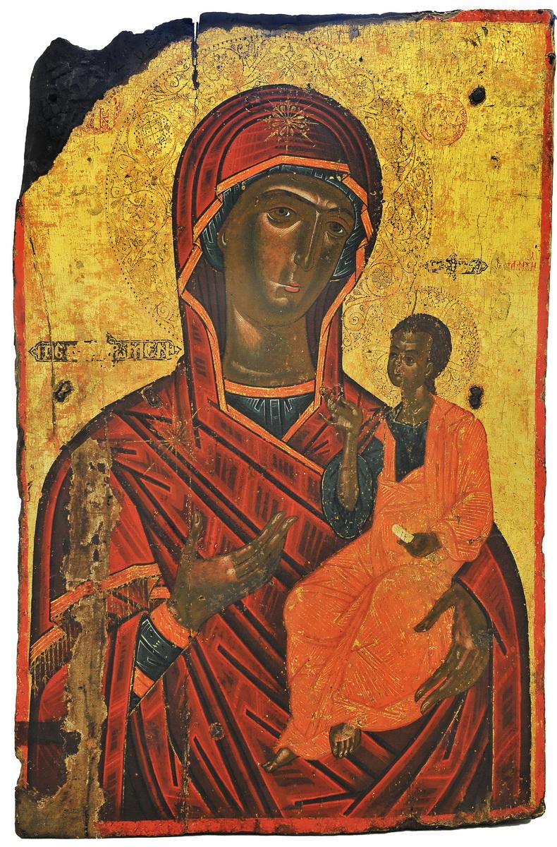 Eikona Panagias Faneromeni - Έκθεση στο Διαχρονικό Μουσείο Λάρισας – Εικόνες του Ι.Ν. Παναγίας Φανερωμένης Τυρνάβου