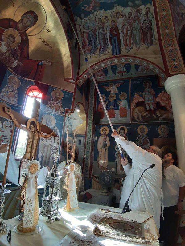 egkainia AgNektarios Nikaia 11 - Εγκαίνια Ιερού Ναού Αγίου Νεκταρίου (φωτο)