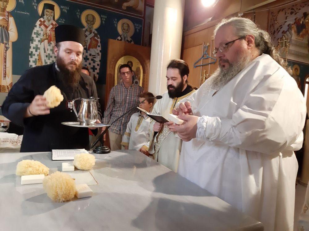 egkainia AgNektarios Nikaia 5 - Εγκαίνια Ιερού Ναού Αγίου Νεκταρίου (φωτο)