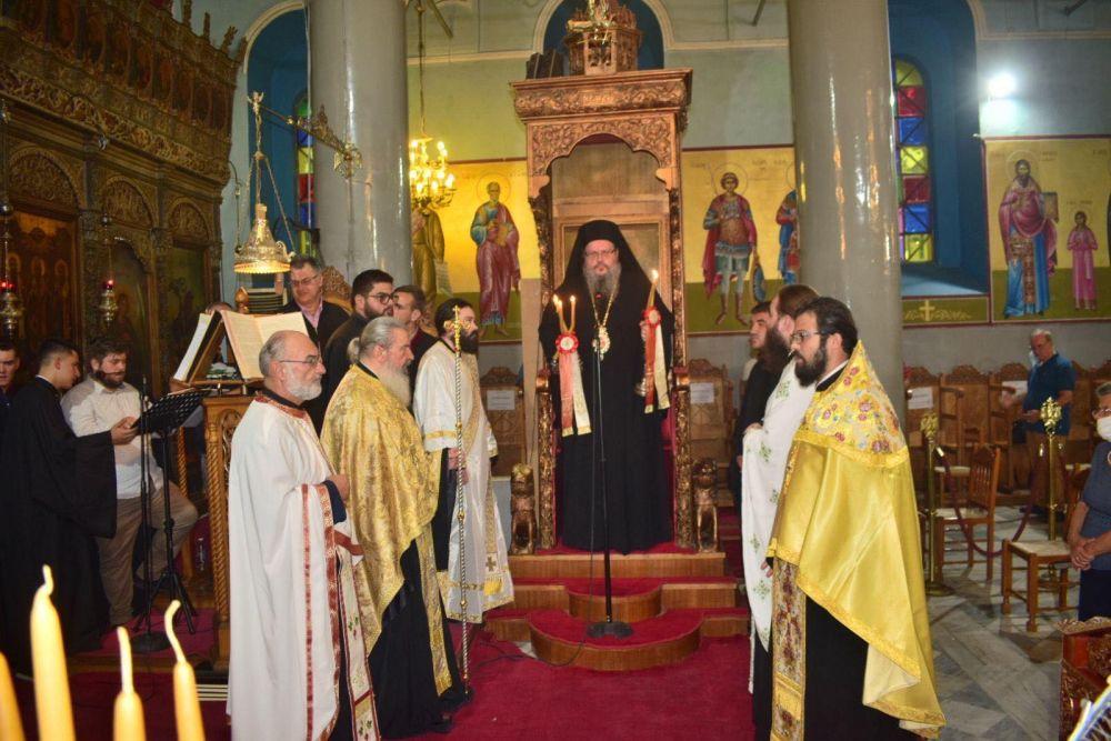 esp genesiotheotokou 2020 6 - Στον Ι.Μ.Ν της Παναγίας Φανερωμένης στον Τύρναβο ο Σεβασμιώτατος