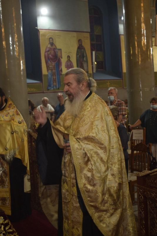 esp genesiotheotokou 2020 7 - Στον Ι.Μ.Ν της Παναγίας Φανερωμένης στον Τύρναβο ο Σεβασμιώτατος