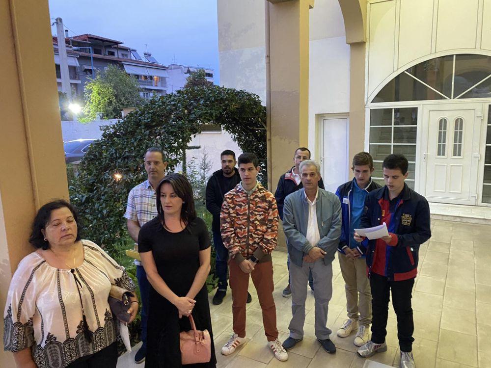 agiosmos sbm 2 - Αγιασμός στη Σχολή Βυζαντινής Μουσικής της Ι.Μ. Λαρίσης και Τυρνάβου