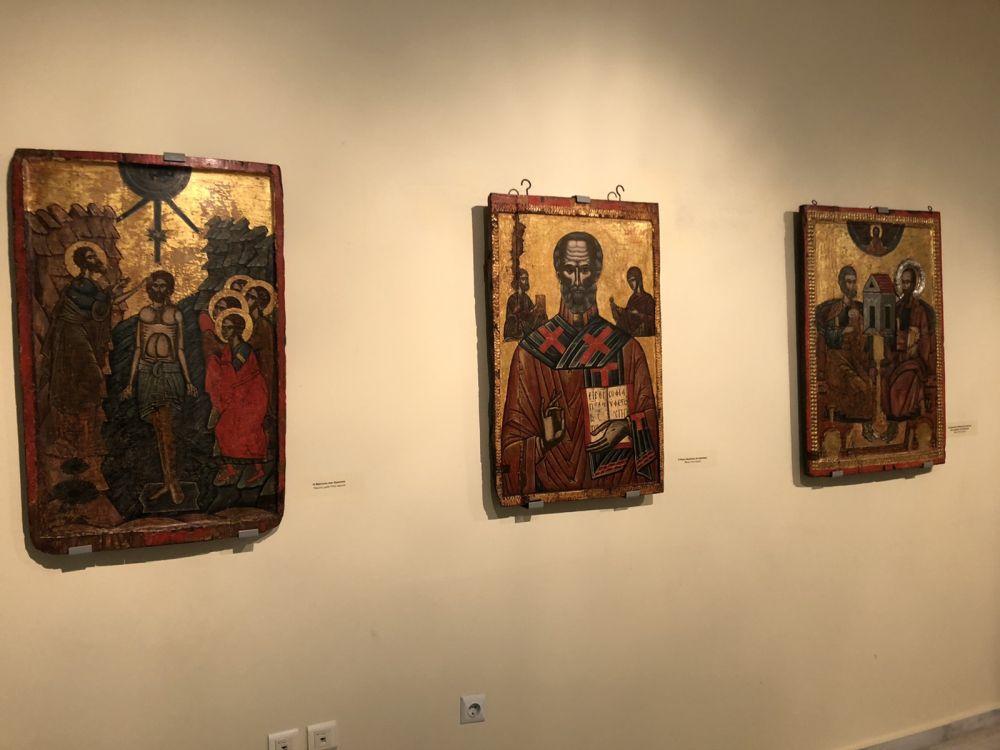 ekthesi diaxroniko panagiafaneromeni Oct20 11 - Έκθεση Εικόνων Παναγίας Φανερωμένης Τυρνάβου (φωτο)