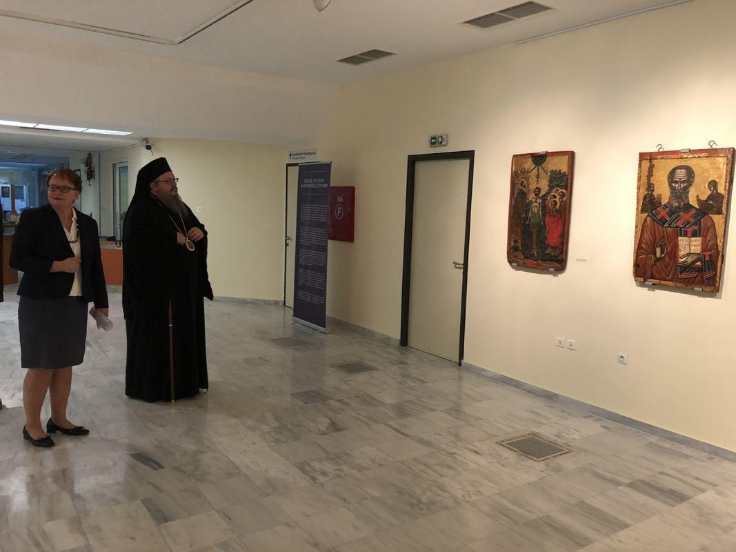 ekthesi diaxroniko panagiafaneromeni Oct20 14 - Έκθεση Εικόνων Παναγίας Φανερωμένης Τυρνάβου (φωτο)