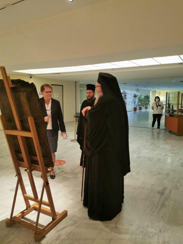 ekthesi diaxroniko panagiafaneromeni Oct20 15 - Έκθεση Εικόνων Παναγίας Φανερωμένης Τυρνάβου (φωτο)