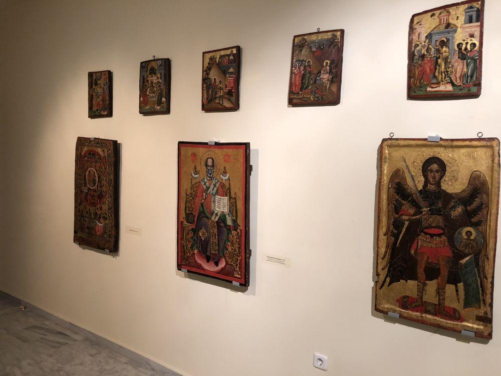 ekthesi diaxroniko panagiafaneromeni Oct20 5 - Έκθεση Εικόνων Παναγίας Φανερωμένης Τυρνάβου (φωτο)
