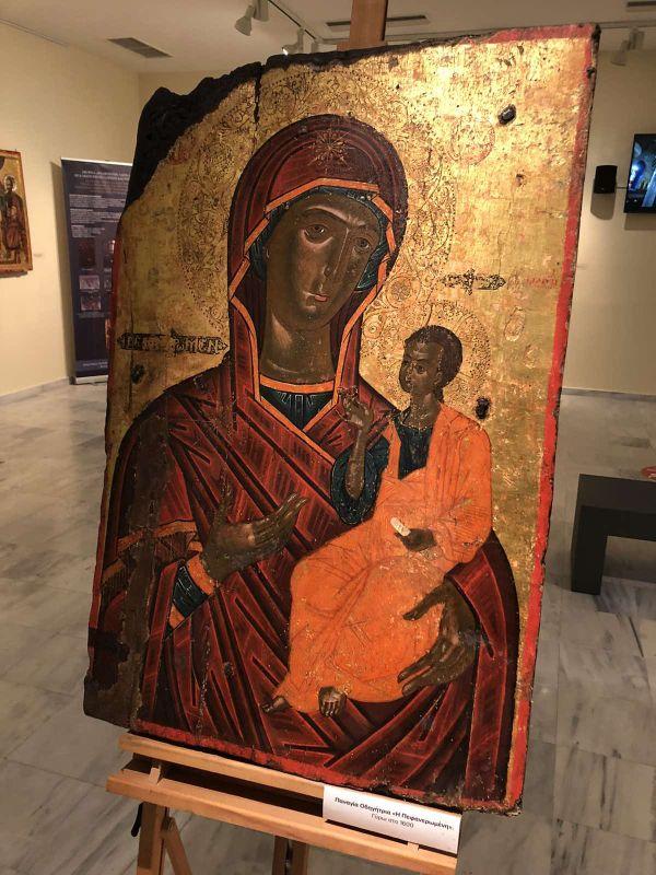 ekthesi diaxroniko panagiafaneromeni Oct20 9 - Έκθεση Εικόνων Παναγίας Φανερωμένης Τυρνάβου (φωτο)