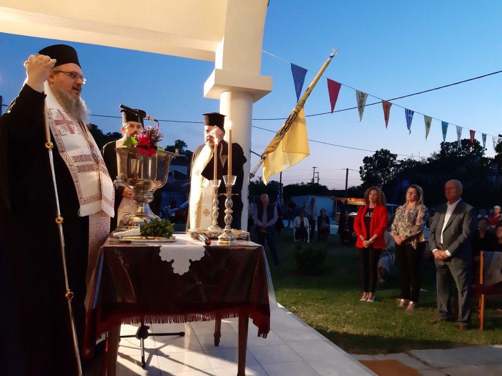 thiranoixia AgLouka Ampelonas 6 - Θυρανοίξια Ι.Ν. Αγίου Λουκά Αρχιεπισκόπου Κριμαίας και Συμφερουπόλεως στον Αμπελώνα (φωτο)