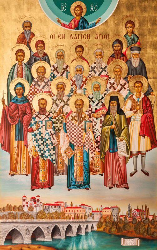EnLarisis 2020 10 - Σύναξη των Εν Λαρίση Αγίων στον Άγιο Νικόλαο Λαρίσης